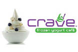 CRAVE FROZEN YOGURT logo