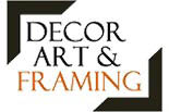 DECOR ART & FRAMING logo
