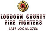 LOUDOUN COUNTY CAREER FIREFIGHTERS logo