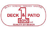 DECK AND PATIO BOYZ logo