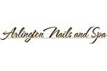 ARLINGTON NAILS AND SPA logo
