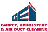GE&I CARPET CLEANING logo