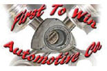 FIRST TO WIN AUTOMOTIVE logo