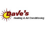 DAVE'S HEATING & AC logo