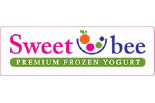 SWEET BEE FROZEN YOGURT logo