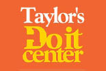 TAYLOR'S DO IT CENTER logo