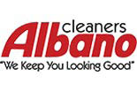 ALBANO CLEANERS logo