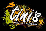 TINI'S Frozen Yogurt Bar logo
