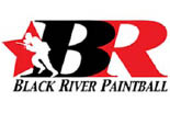 Black River Paintball logo