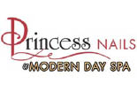 PRINCESS NAILS MODERN DAY SPA logo