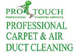 PROTOUCH CARPET & AIRDUCT CLEANING logo