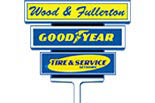 WOOD AND FULLERTON TIRE AND AUTO SERVICE CENTERS logo