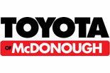 Toyota of McDonough logo