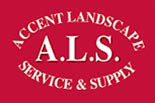 ACCENT LANDSCAPE SERVICE & SUPPLY logo