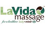LA VIDA MASSAGE logo