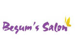 BEGUMS SALON logo
