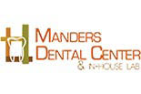 Manders Dental Center & In-House Lab logo