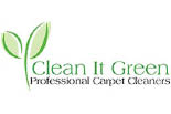 CLEAN IT GREEN CARPET CLEANING logo