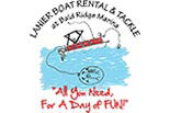 LANIER BOAT RENTAL & TACKLE logo