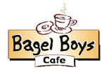 BAGEL BOYS CAFE -ACH15- logo