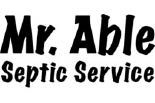 Mr. Able Septic Service logo