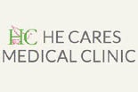 HE CARES MEDICAL WALK IN CLINIC logo