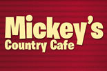 MICKEY'S COUNTRY CAFE logo
