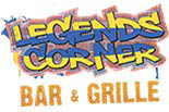 LEGENDS CORNER BAR & GRILL logo