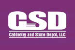 CABINETRY AND STONE DEPOT logo