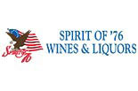 SPIRIT OF 76 WINES AND LIQUORS logo