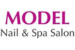 MODEL NAIL SALON logo