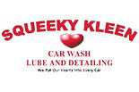 SQUEEKY KLEEN CAR WASH logo