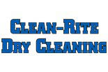 Clean Rite Dry Cleaning Wall logo