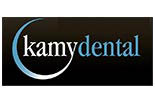 KAMY DENTAL logo