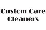 CUSTOM CARE CLEANERS logo