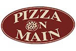 PIZZA ON MAIN logo