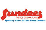 SUNDAES THE ICE CREAM PLACE logo