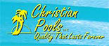 CHRISTIAN POOLS logo