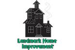 LANDMARK HOME IMPROVEMENT logo