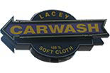 LACEY CAR WASH logo