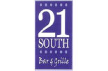 21 SOUTH BAR & GRILLE logo