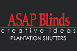 ASAP BLINDS logo