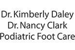 DR. KIMERLY DALEY~PODIATRIST logo
