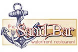 THE SAND BAR WATERFRONT RESTAURANT logo