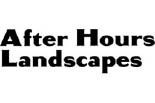 AFTER HOURS LANDSCAPES logo