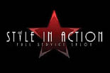 STYLE IN ACTION HAIR SALON logo