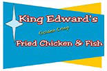 KING EDWARDS CHICKEN logo
