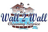 WALL 2  WALL CLEANING logo