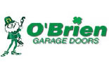 O'BRIEN GARAGE DOORS logo
