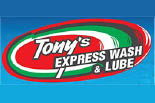 TONY'S EXPRESS CAR WASH logo